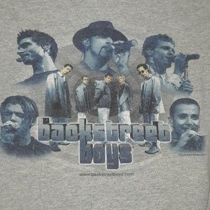 Vintage Backstreet Boys 1999 Tshirt Size S